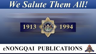 Tribute to the Commissioners of the former South African Police