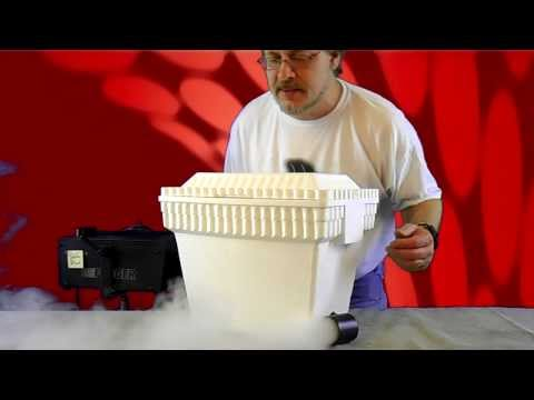 chauvet geyser upright smoke machine