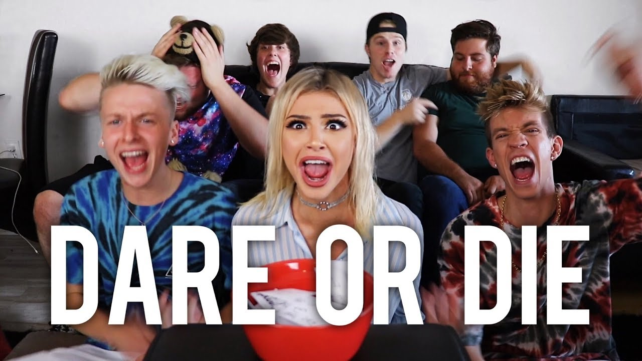 dares with friends i got laid kristen hancher youtube