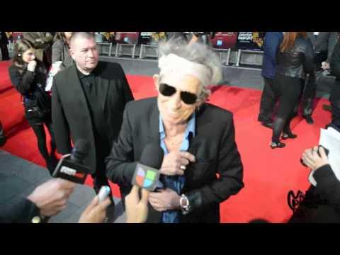 "Keith Richards for ""Crossfire Hurricane"" premiere @ 56th BFI London Film Festival"