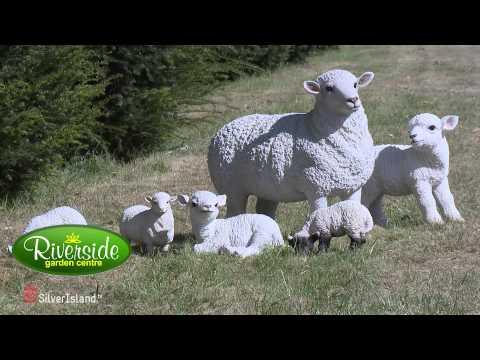 Vivid Arts Life like Animal Ornament Collection - Riverside Garden Centre (Silverisland Films)