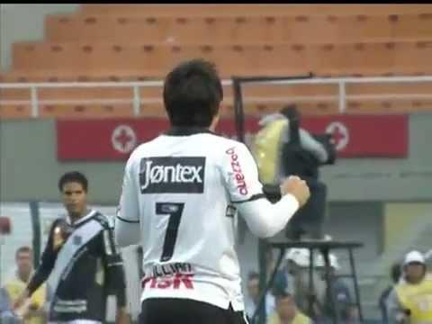 Corinthians eliminado com frango de Julio Cesar em Corinthians 2x3 Ponte Preta - 22/04/2012