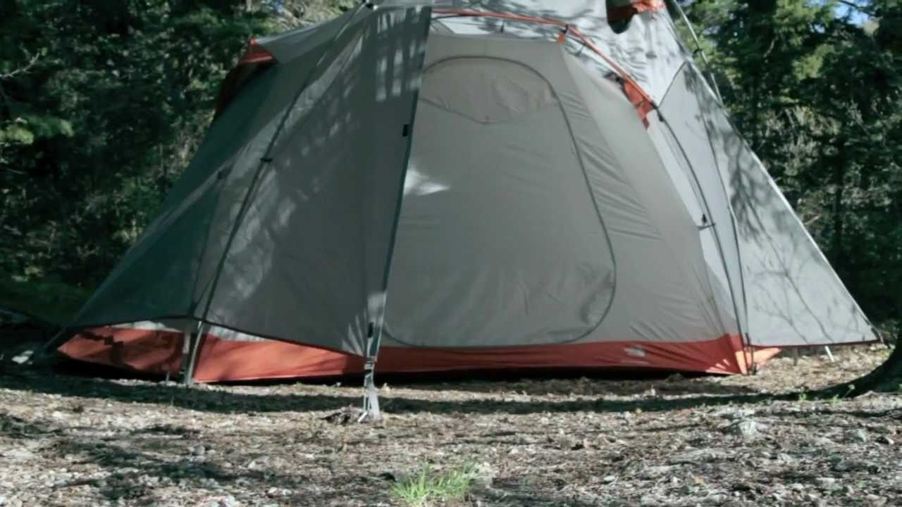& North Face Mountain Manor 6 Tent Review - YouTube