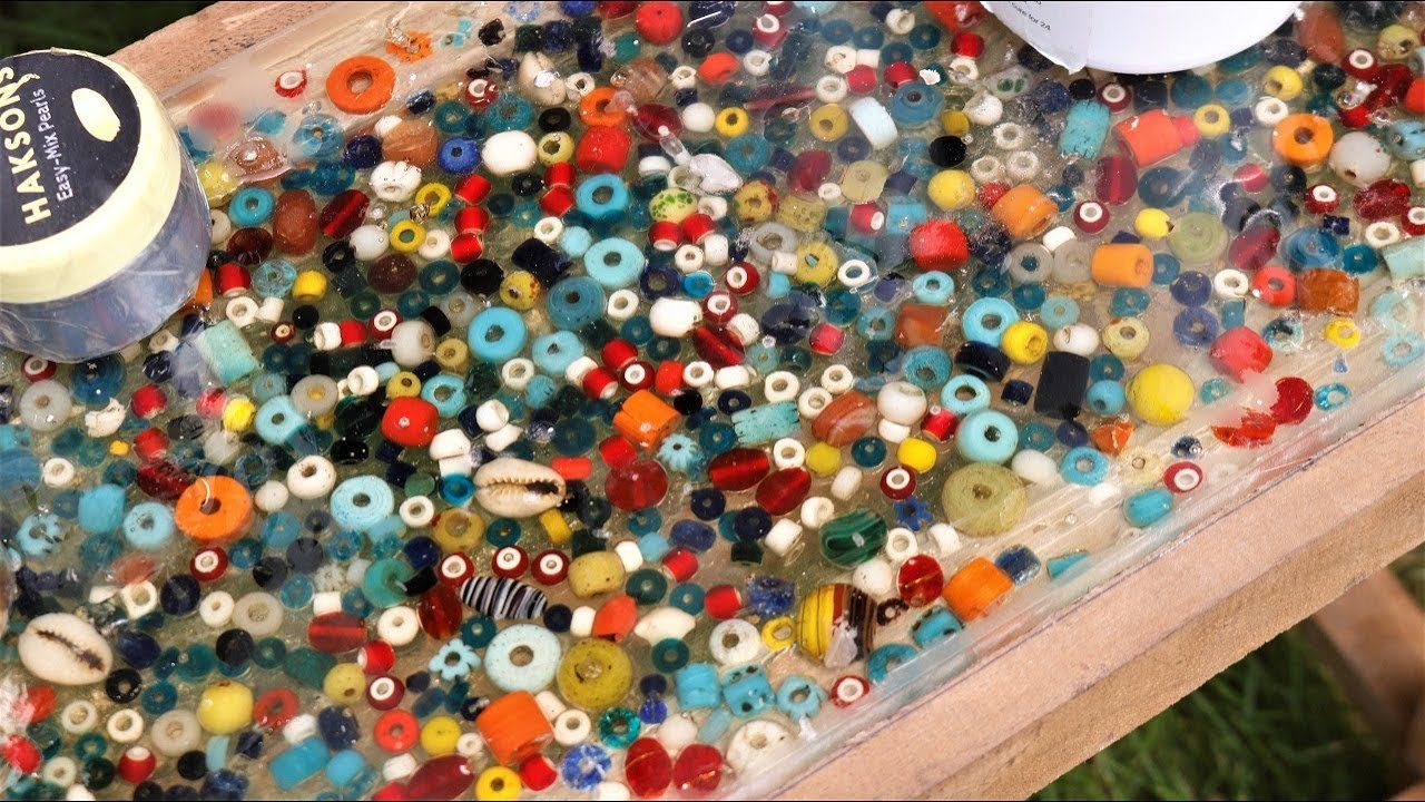 Colorful Beads in Resin. How to Make at Home,  | DIY |
