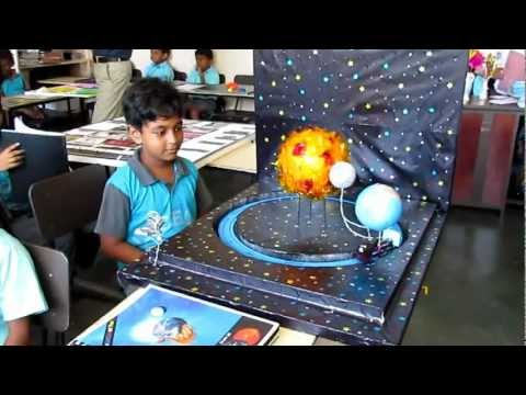 VIDEO: 6th grade Solar System Project