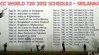ICC T20 World 2012