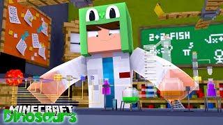 WE ATTACK THE T-REX - Minecraft Dinosaurs w Little Lizard