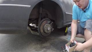 VW Passat B6 Замена задних тормозных колодок на Brembo