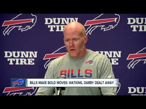 Bills trade WR Sammy Watkins to Rams, CB Ronald Darby to Eagles