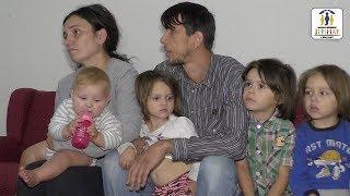 JETIMAT E BALLKANIT - Familja 6 anetareshe e Senat Zyberi nga Shkupi i be me banese te re