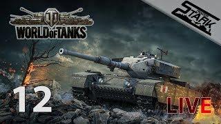 World Of Tanks - 12.Rész (30v30 ha bedob) - Stark LIVE /100k