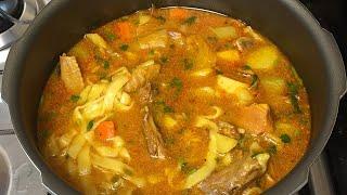 Sopa de Galinha com Legumes bem Saborosa