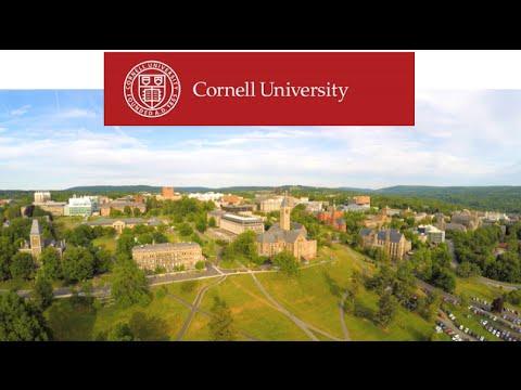 Beautiful Drone Shot of Cornell University - Ultra High Definition 4K