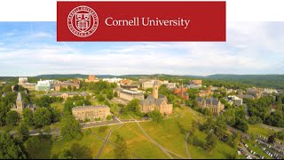 Beautiful Drone Shot of Cornell University - Ultra High Definition 4K