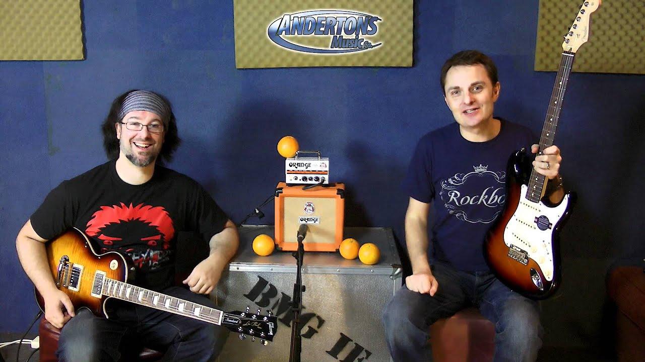 Orange Micro Terror 20 Watt Head Youtube