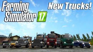 Farming Simulator 17 - New Trucks!