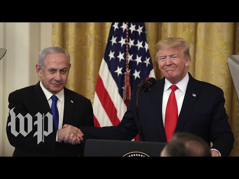WATCH LIVE: Trump, Netanyahu Deliver Joint Statement On Middle East Peace Plan