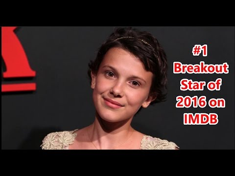 Millie Bobby Brown Is The #1 Breakout Star Of 2016 #3 Overall On IMDB