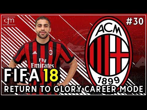 FIFA 18 AC Milan Career Mode: Babak 16 Besar UEFA Europa League Lawan Everton #30