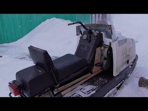Снегоход Буран. Первые