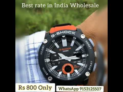 G-SHOCKS Chronograph Watch Best Rate In India Wholesale