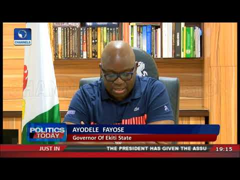 Fayose Accuses FG Of Complicity In Abduction Of Dapchi Girls thumbnail