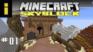 First Time SkyBlocker! - SkyBlock Season 1 - EP01 (Minecraft)