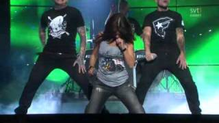 Lena Ph Feat. Dead By April - Dancing in the Neon Light - Melodifestivalen 2011