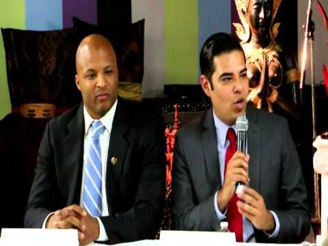 Long Beach mayor forum promo on Khmer TV
