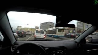 Lada Vesta: Когда ты на Ладе, а он на Мерседесе!  (4k, UHD)