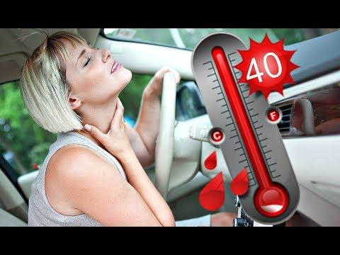 Как быстро охладить салон автомобиля в жару? Супер способ борьбы с жарой в машине!