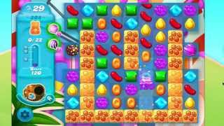 Candy Crush Soda Saga Level 308 No Boosters  5 moves left!