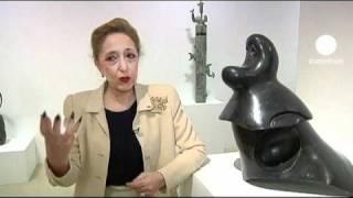 Der Bildhauer Joan Miró im Musée Maillol
