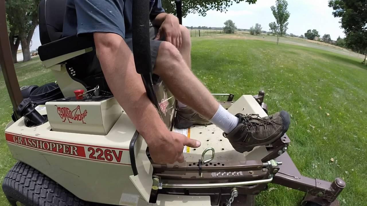 Grasshopper 226V Zero Turn Mower