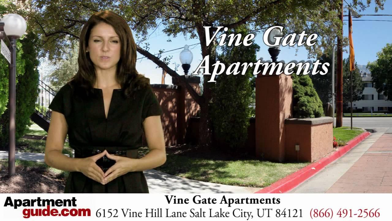 Salt Lake City Apartments Vine Gate Apartments In Ut Youtube