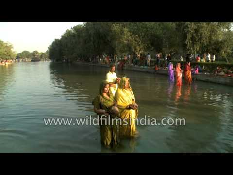 Hindu devotees observe Chhath Puja in Delhi from YouTube · Duration:  1 minutes 43 seconds