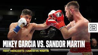 FIGHT HIGHLIGHTS | Miĸey Garcia vs. Sandor Martin