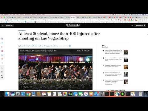 Las Vegas Injuries Up To 406 And Growing