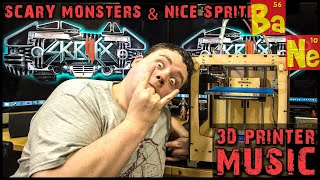 SKRILLEX Scary Monsters and Nice Sprites on Ultimaker 3D Printer