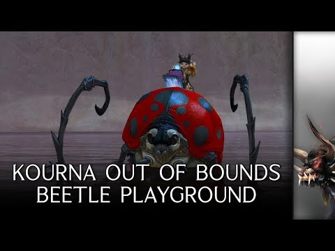 Guild Wars 2 - Kourna Out of Bounds Beetle Playground thumbnail