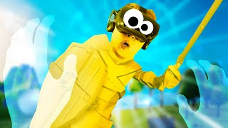 I BECAME GOD AND THEY MADE A 1,000 FT GOLDEN STATUE OF ME!!?! Deisim VR Valve Index Virtual Reality