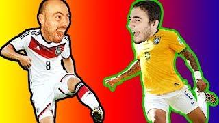 Dünya Kupası Finali Oynadık (Almanya - Brezilya)