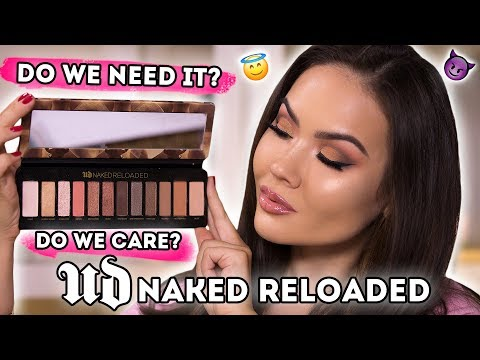 URBAN DECAY NAKED RELOADED - FULL REVIEW + SWATCHES | Maryam Maquillage