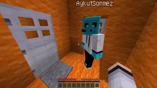 Minecraft Parkur - YUKARI !