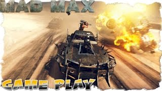 Mad Max - Oil Pump Camp - The Edge - Gameplay.