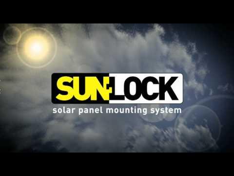 Sunlock Solar Panel Mounting System