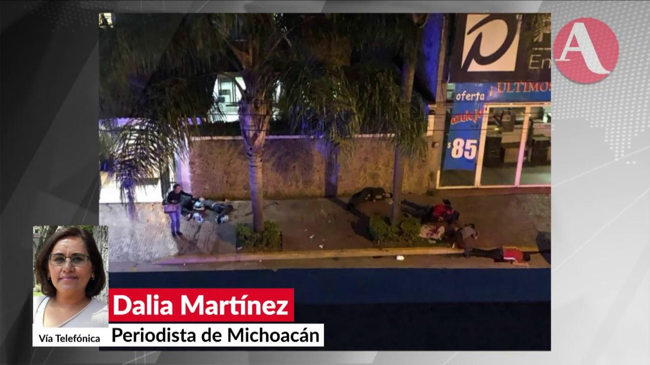 Uruapan 7 Personas Muertas Y 10 Heridas Por Ataque Armado