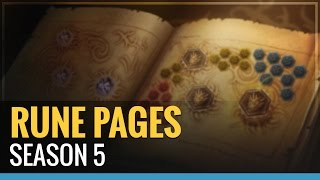 Season 5 Rune Page Set Ups - League Of Legends