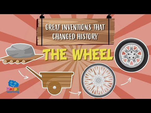 The Wheel: great inventions that changed history | Educational Videos for Kids