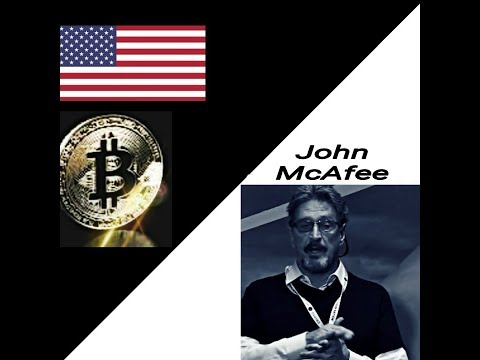(Pt.1/8) Keynote Feature Speech: John McAfee #2018 BlockChain Conference - BitCoin Gangstas